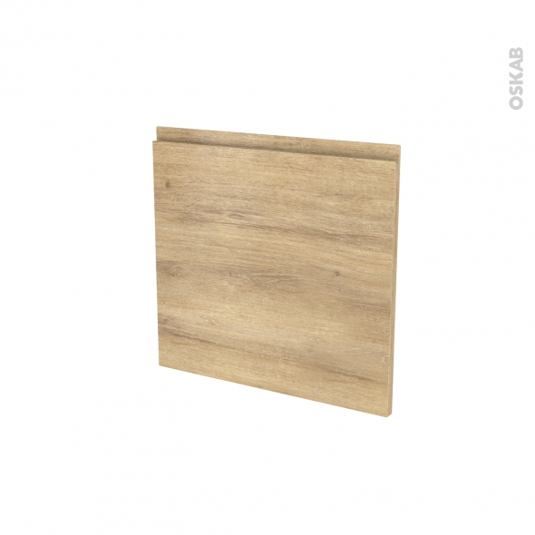 Porte lave vaisselle - Intégrable N°16 - IPOMA Chêne naturel - L60 x H57 cm