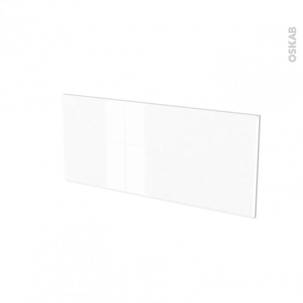 Façades de cuisine - Face tiroir N°11 - IRIS Blanc - L80 x H35 cm