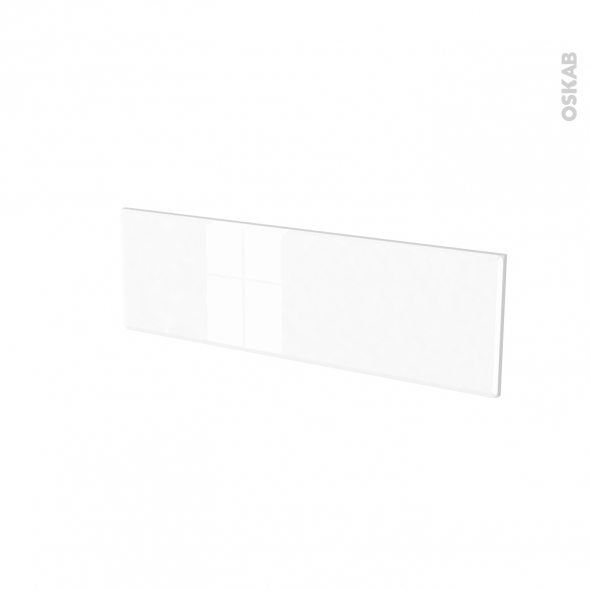 Façades de cuisine - Face tiroir N°39 - IRIS Blanc - L80 x H25 cm
