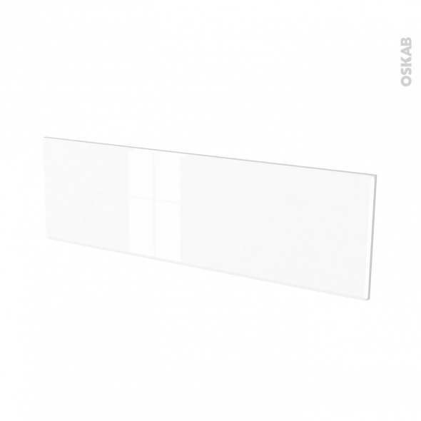 Façades de cuisine - Face tiroir N°40 - IRIS Blanc - L100 x H31 cm
