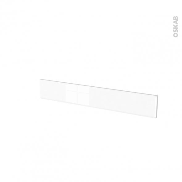 Façades de cuisine - Face tiroir N°42 - IRIS Blanc - L80 x H13 cm