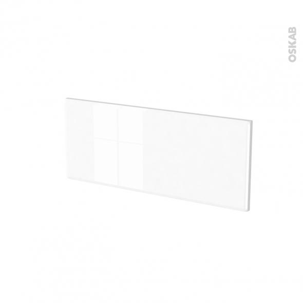 Façades de cuisine - Face tiroir N°5 - IRIS Blanc - L60 x H25 cm