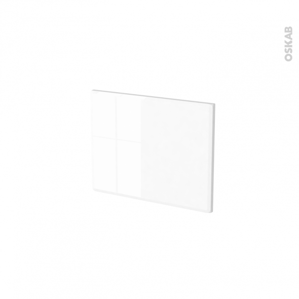 Façades de cuisine - Face tiroir N°6 - IRIS Blanc - L40 x H31 cm