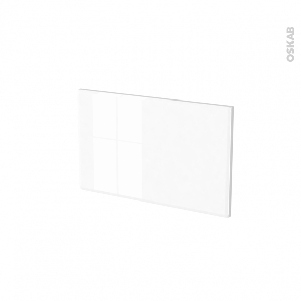 Façades de cuisine - Face tiroir N°7 - IRIS Blanc - L50 x H31 cm