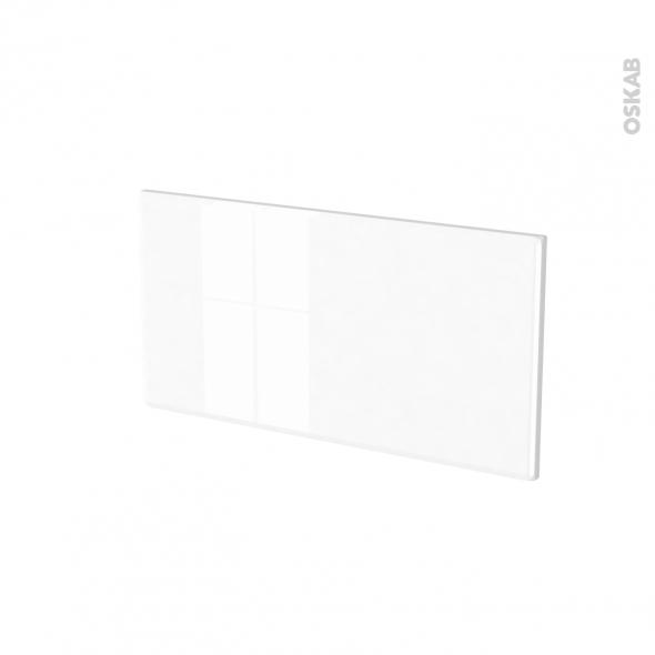 Façades de cuisine - Face tiroir N°8 - IRIS Blanc - L60 x H31 cm