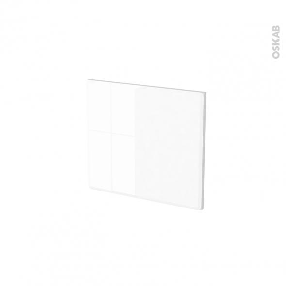 Façades de cuisine - Face tiroir N°9 - IRIS Blanc - L40 x H35 cm