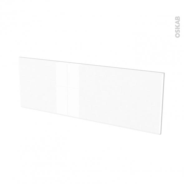 Façades de cuisine - Porte N°12 - IRIS Blanc - L100 x H35 cm