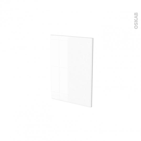 Façades de cuisine - Porte N°14 - IRIS Blanc - L40 x H57 cm