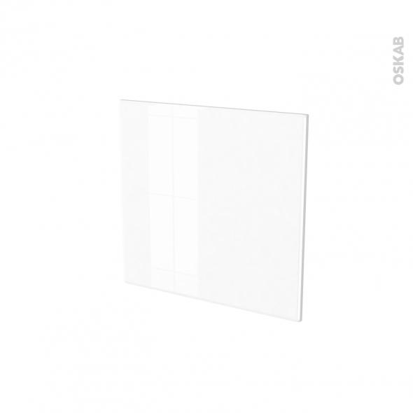 Porte lave vaisselle - Intégrable N°16 - IRIS Blanc - L60 x H57 cm