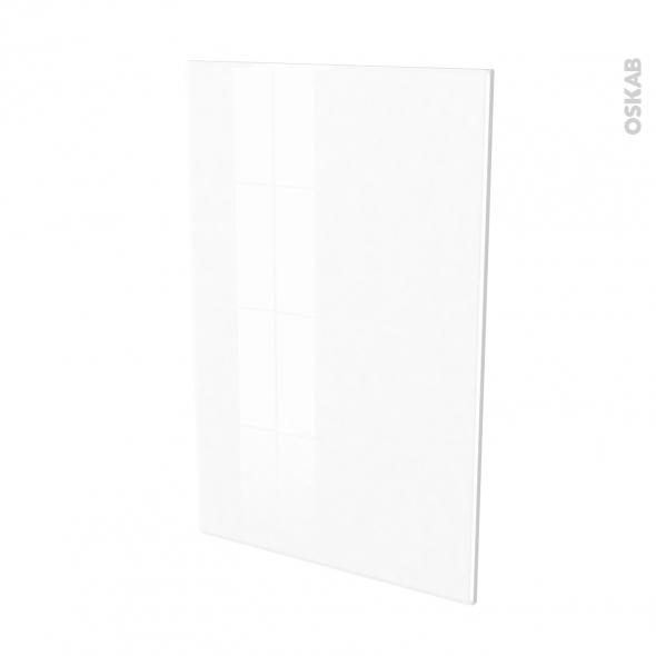 Façades de cuisine - Porte N°24 - IRIS Blanc - L60 x H92 cm