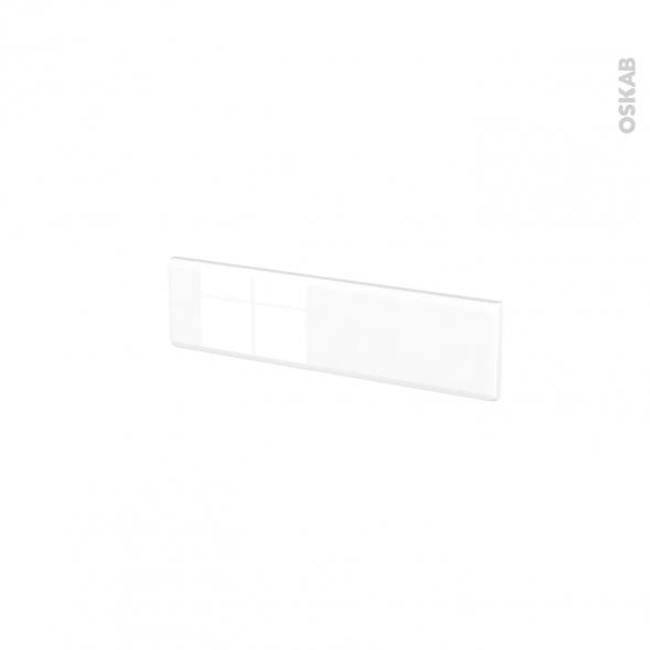 Façades de cuisine - Face tiroir N°2 - IRIS Blanc - L50 x H13 cm