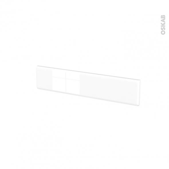 Façades de cuisine - Face tiroir N°3 - IRIS Blanc - L60 x H13 cm