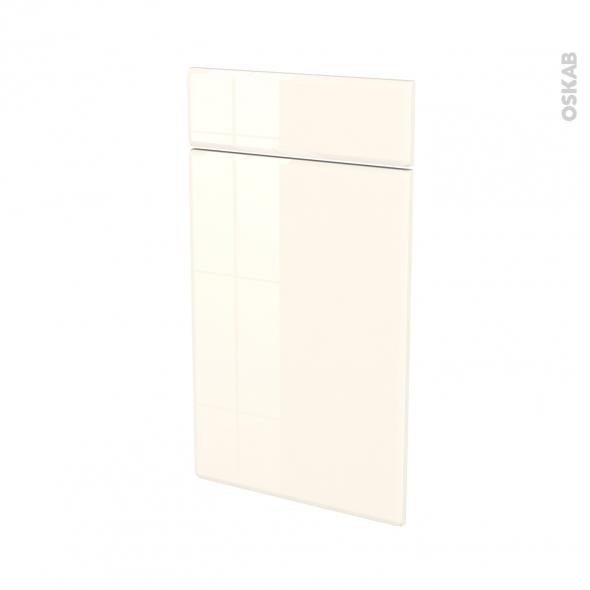 IRIS Ivoire - façade N°51 1 porte 1 tiroir - L40xH70