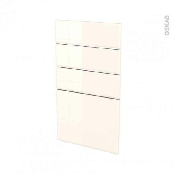 IRIS Ivoire - façade N°53 4 tiroirs - L40xH70