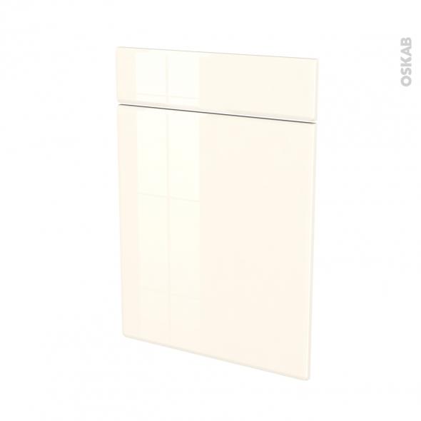 IRIS Ivoire - façade N°54 1 porte 1 tiroir - L50xH70