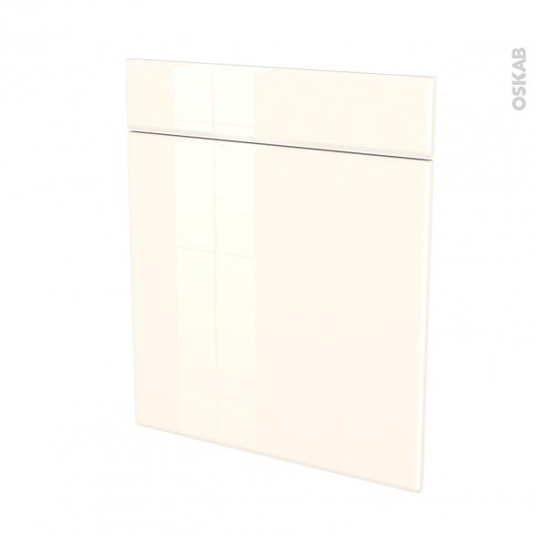 IRIS Ivoire - façade N°56 1 porte 1 tiroir - L60xH70