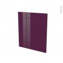 Façades de cuisine - Porte N°21 - KERIA Aubergine - L60 x H70 cm