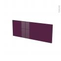 Façades de cuisine - Face tiroir N°38 - KERIA Aubergine - L80 x H31 cm