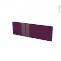 KERIA Aubergine - face tiroir N°39 - L80xH25