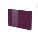 Façades de cuisine - Porte N°13 - KERIA Aubergine - L60 x H41 cm