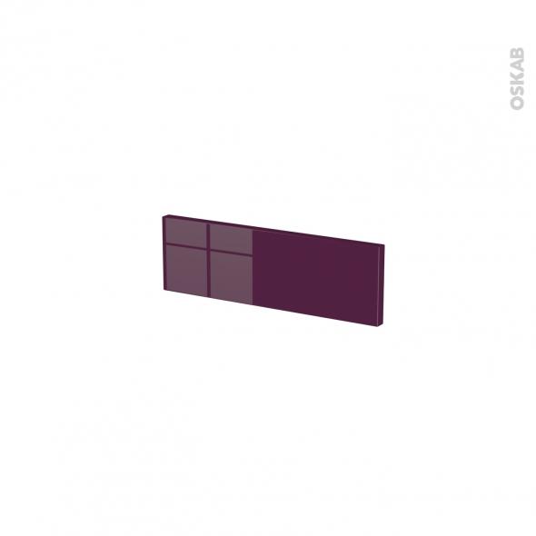 KERIA Aubergine - face tiroir N°1 - L40xH13