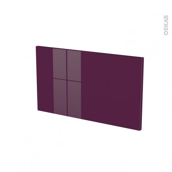 KERIA Aubergine - face tiroir N°10 - L60xH35