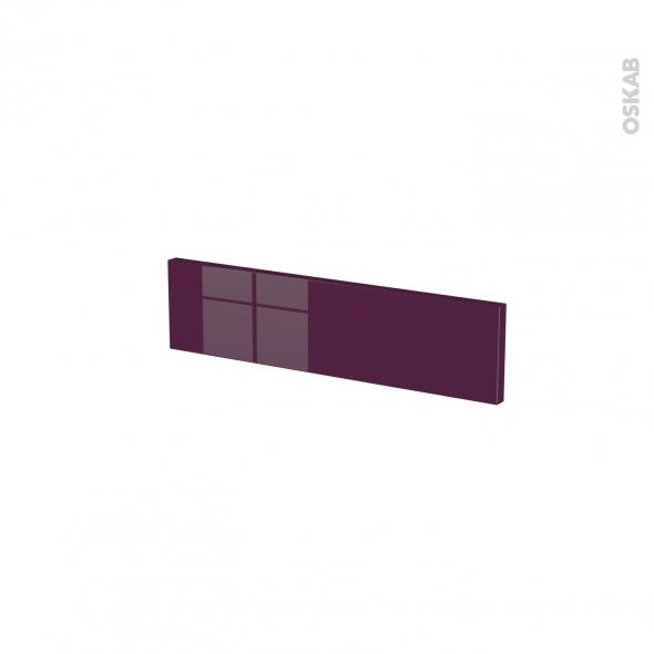 KERIA Aubergine - face tiroir N°2 - L50xH13