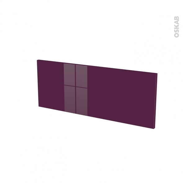KERIA Aubergine - face tiroir N°38 - L80xH31
