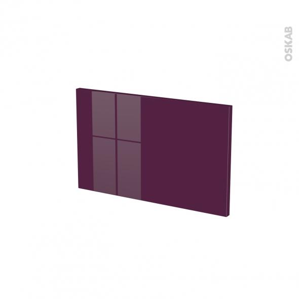Façades de cuisine - Face tiroir N°7 - KERIA Aubergine - L50 x H31 cm