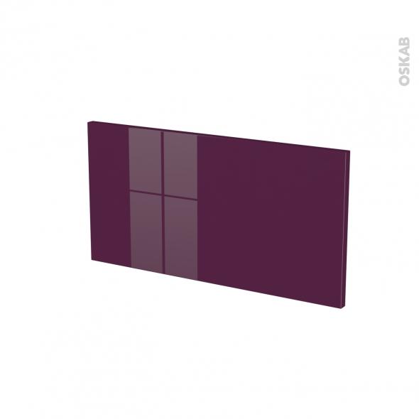 KERIA Aubergine - face tiroir N°8 - L60xH31