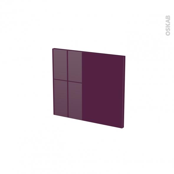 KERIA Aubergine - face tiroir N°9 - L40xH35