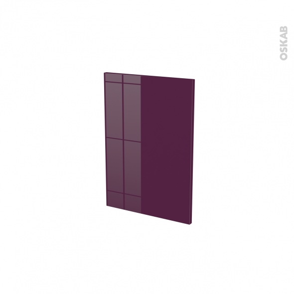 Façades de cuisine - Porte N°14 - KERIA Aubergine - L40 x H57 cm