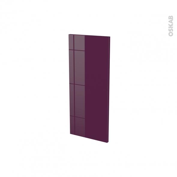Façades de cuisine - Porte N°18 - KERIA Aubergine - L30 x H70 cm