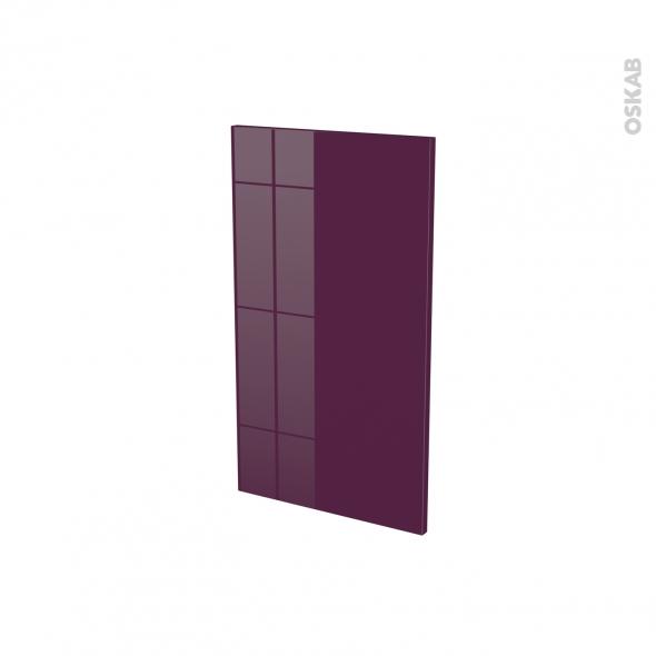 Façades de cuisine - Porte N°19 - KERIA Aubergine - L40 x H70 cm
