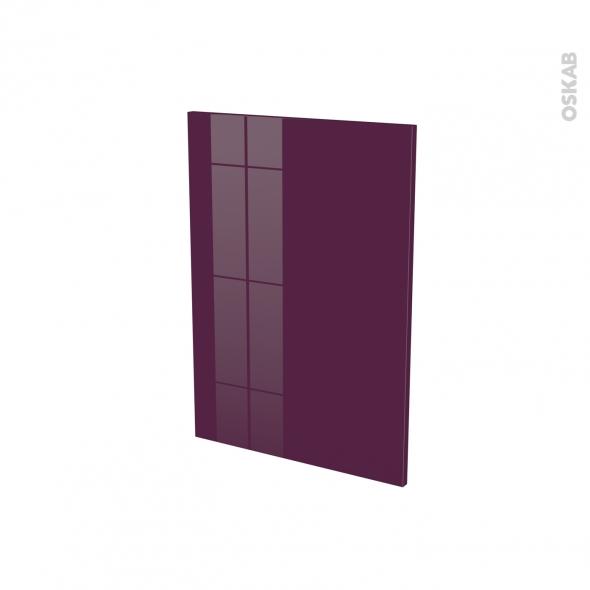 Façades de cuisine - Porte N°20 - KERIA Aubergine - L50 x H70 cm
