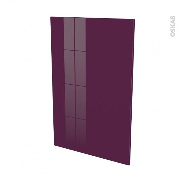 Façades de cuisine - Porte N°24 - KERIA Aubergine - L60 x H92 cm