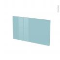 Façades de cuisine - Face tiroir N°10 - KERIA Bleu - L60 x H35 cm