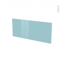 Façades de cuisine - Face tiroir N°11 - KERIA Bleu - L80 x H35 cm