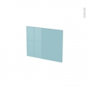 Façades de cuisine - Face tiroir N°6 - KERIA Bleu - L40 x H31 cm