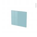 Façades de cuisine - Face tiroir N°9 - KERIA Bleu - L40 x H35 cm
