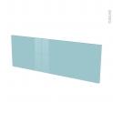 Façades de cuisine - Porte N°12 - KERIA Bleu - L100 x H35 cm