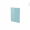 Façades de cuisine - Porte N°14 - KERIA Bleu - L40 x H57 cm