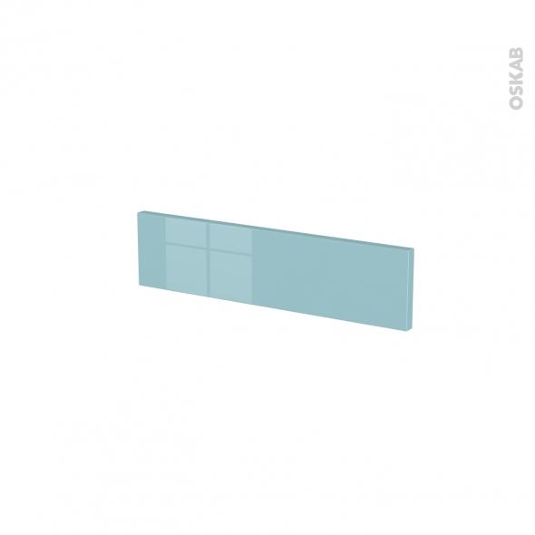 Façades de cuisine - Face tiroir N°2 - KERIA Bleu - L50 x H13 cm