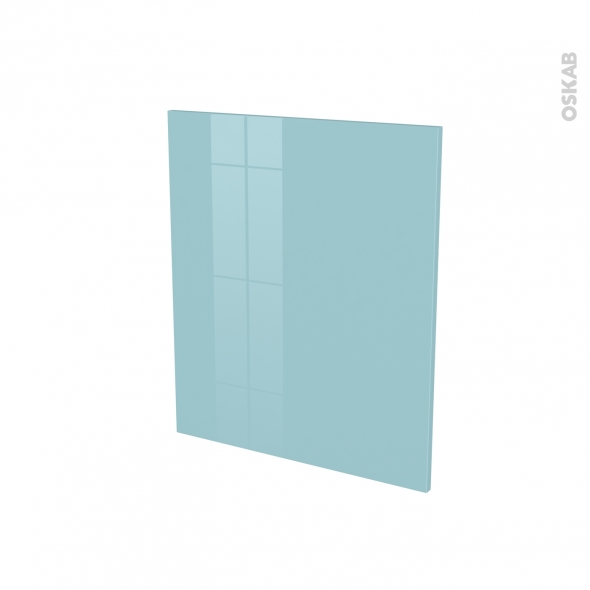 Porte lave vaiselle - Full intégrable N°21 - KERIA Bleu - L60 x H70 cm