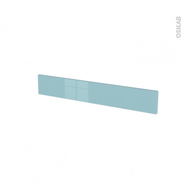 Façades de cuisine - Face tiroir N°42 - KERIA Bleu - L80 x H13 cm