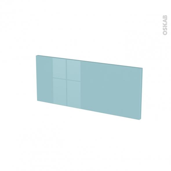 Façades de cuisine - Face tiroir N°5 - KERIA Bleu - L60 x H25 cm