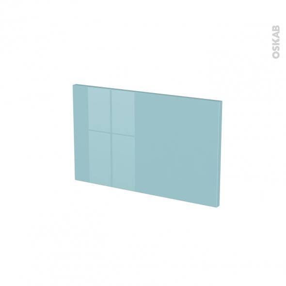 Façades de cuisine - Face tiroir N°7 - KERIA Bleu - L50 x H31 cm
