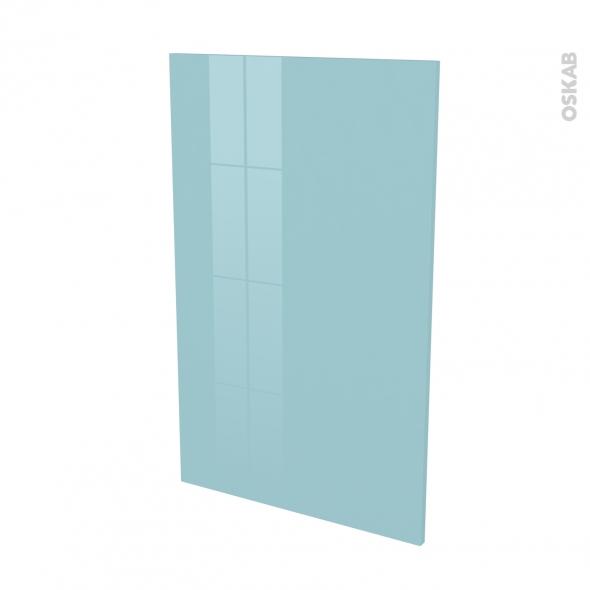 Finition cuisine - Joue N°31 - KERIA Bleu - Avec sachet de fixation - L58 x H92 x Ep.1.6 cm