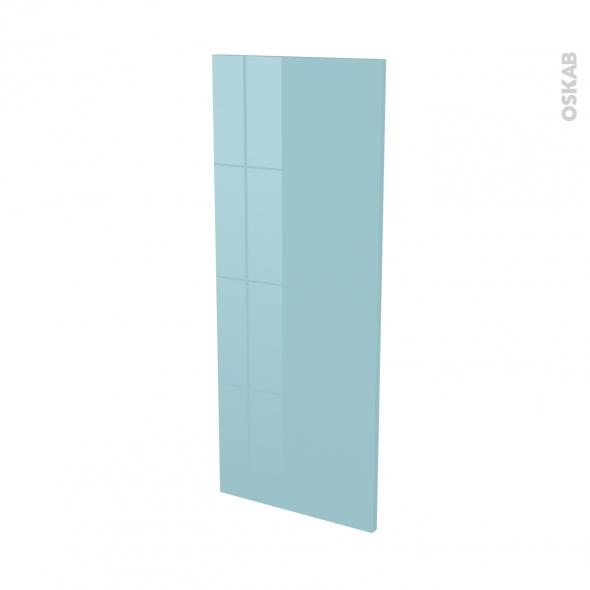 Finition cuisine - Joue N°32 - KERIA Bleu - Avec sachet de fixation - L37 x H92 x Ep.1.6 cm