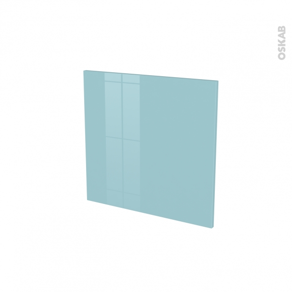 Porte lave vaisselle - Intégrable N°16 - KERIA Bleu - L60 x H57 cm
